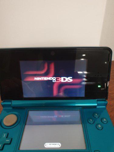 Nintendo ds 3d usada azul (belgrano)