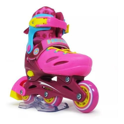 Patin artistico 3 ruedas bota rigida heist ks2 piu online