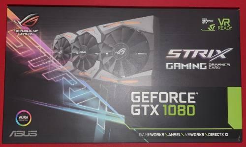 Placa De Video Asus Nvidia Gtx 1080 Strix