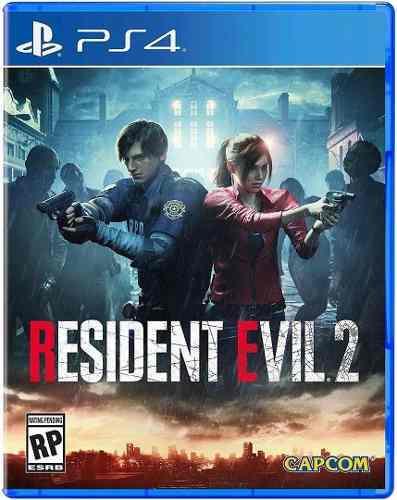 Resident evil 2 remake físico juego ps4 original playking