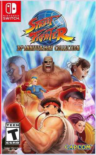 Street Fighter 30th Anniversary Collection Switch Juego Cd