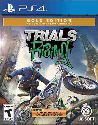 Trials rising gold ps4 juego nuevo cd físico sellado