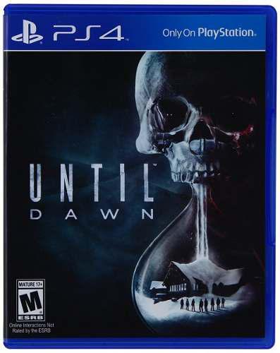 Until dawn ps4 juego nuevo cd original fisico sellado