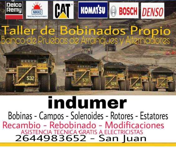 Bobinados del automotor en San Juan