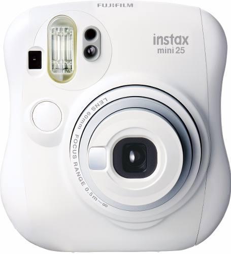 Camara Instantanea Fujifilm Instax Mini 25 Blanca 10 Fotos