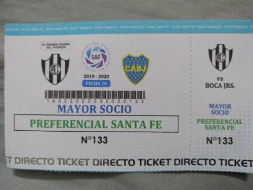 Entrada Central Cordoba Boca Juniors