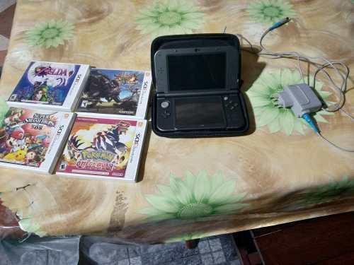 New nintendo 3ds xl - 4 juegos