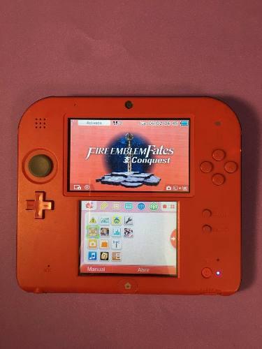 Nintendo 3ds 2ds con 2 juegos de regalo