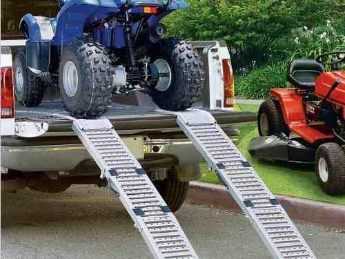 Rampa para cuatriciclo-moto-camioneta-utv-auto-tractor-etc.