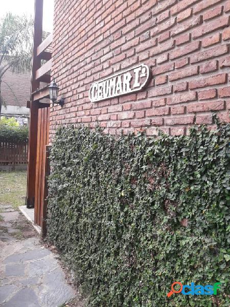 Duplex tipo casa, jardin propio. independiente