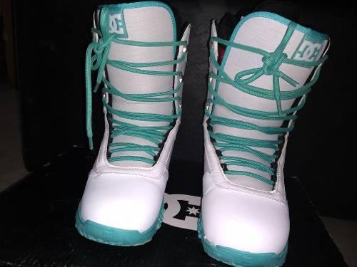 Botas de snowboard dc mujer