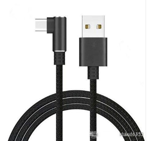 Cable Usb 3.1 Tipo C 90 Grados Xiaomi Samsung Gaming Rapido