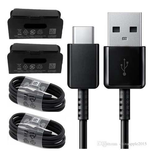 Cable usb tipo c original salmsun s8 s9 s10 a70 carga rapida