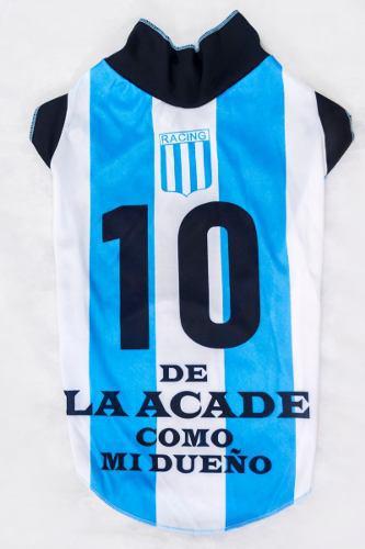 Camiseta racing club de avellaneda para perro talle 0