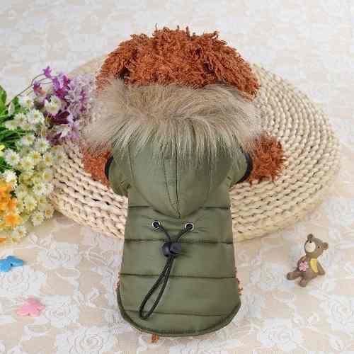 Campera parka impermeable abrigo ropa perro talle chico
