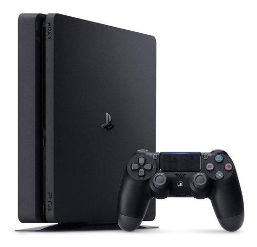 Consola playstation 4 slim hit bundle 5 ps4 con 3 juegos