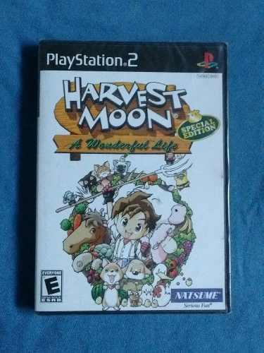 Juegos ps2 harvest moon a wonderful life nuevo sellado
