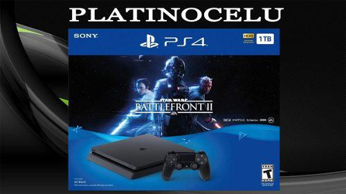 Playstation 4 1tb slim ps4 + star wars battlefront 2/local