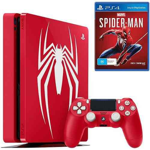 Ps4 pro spiderman 1tb edición limitada sony 4k nueva!!
