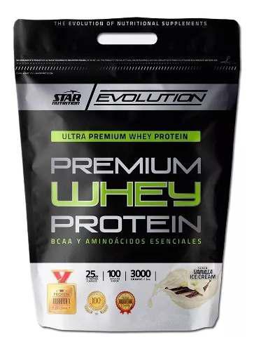 Whey protein 3 kgs star nutrition belgrano /la boca