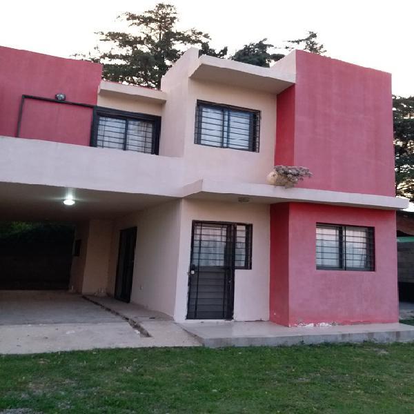 Alquilo casa en villa carlos paz por dia alquiler temporario