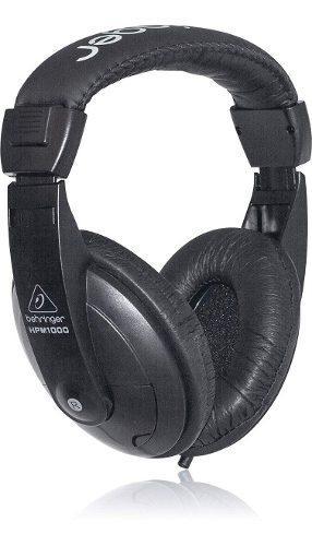 Auricular behringer profesionales hpm 1000 negro estudios dj