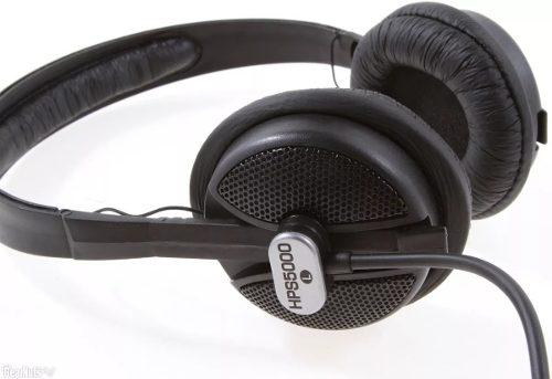 Auricular cerrado hps5000 behringer estudio dj mezcla