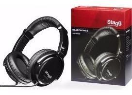 Auriculares pro dj monitor shp5000h stagg bm music mjm