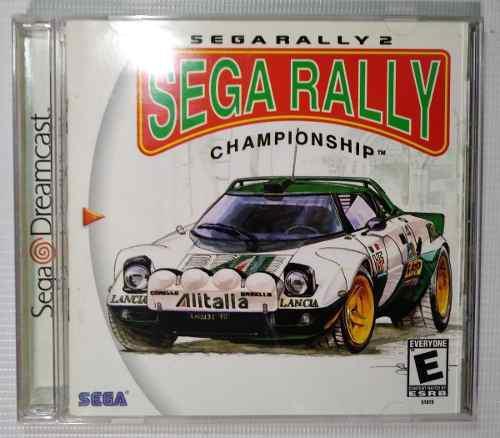 Sega rally 2 sega rally championship dreamcast original cib