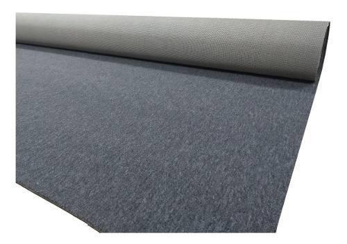 Alfombra boucle base doble alto transito 2 mts de ancho gris