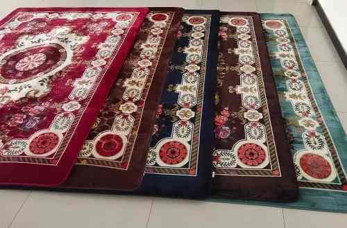 Alfombra carpeta floral tipo persa 2x3 metros