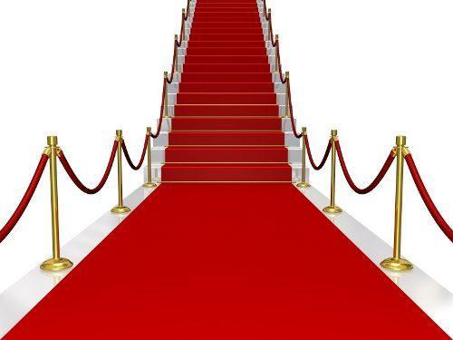Alfombra Roja Para Fiestas O Eventos X Metro Cuadrado