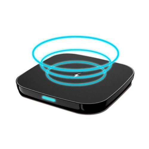 Base cargadora inalambrico qi p/ iphone x 8 8 plus xr xs 11