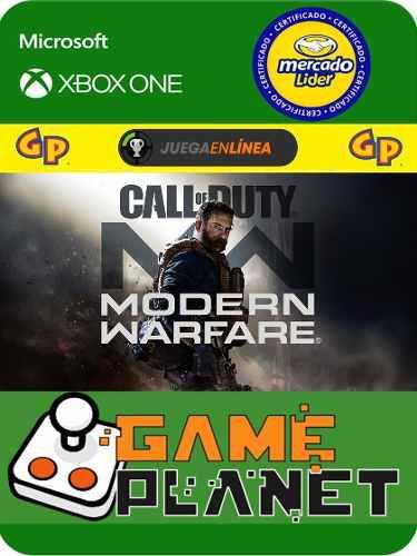 Call Of Duty M.w Xbox One Modo Local + En Linea