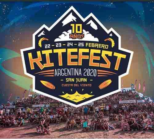 Entradas Kite Fest Argentina 2020 San Juan Cuesta Del Viento