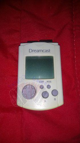Sega dreamcast vmu original blanca (memory card)