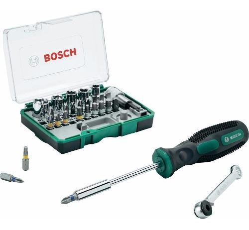 Set De Puntas Accesorios Promoline Bosch 28 Piezas 260701733