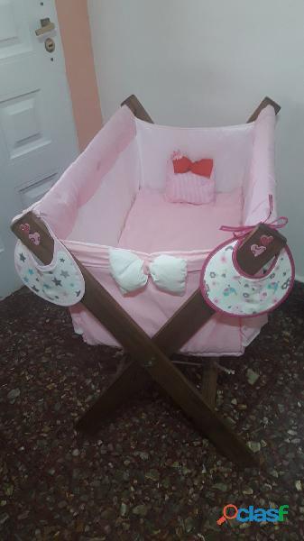 Catre para bebe reforzado alexis bebe