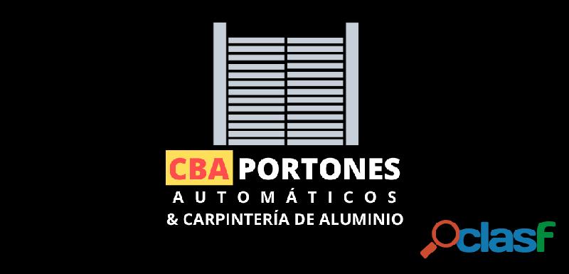 CBA Portones Automáticos & Carpintería de Aluminio
