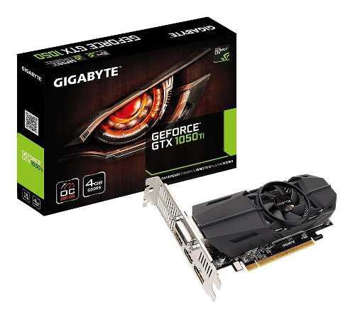 Placa De Video Nvidia Gtx 1050 Ti 4gb Ddr5 Gigabyte - Dixit