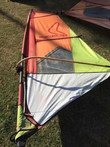 Vela windsurf sinergy 4.3 m reparada