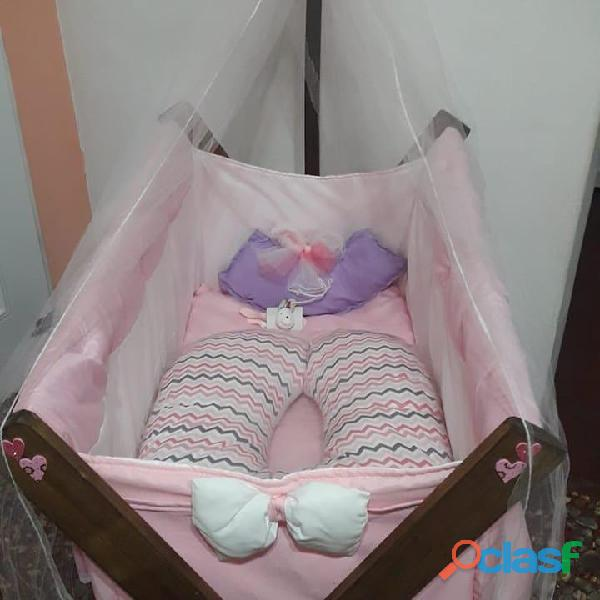 catre cuna moises para bebe Linea Premium 8