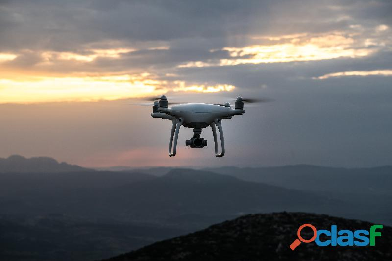 Fotografías y filmaciones con drones