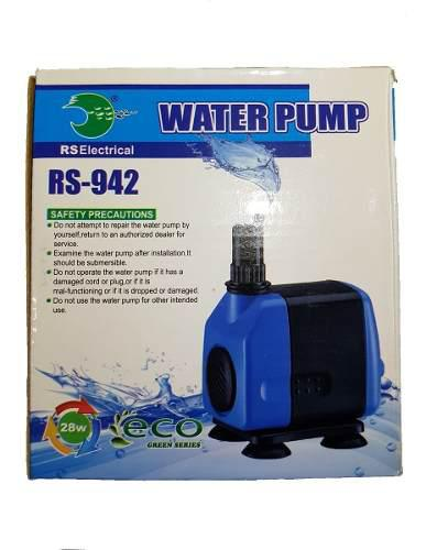 Bomba de agua motor rs 942 1000 l/h jardines fuentes