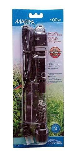 Calefactor sumergible para acuario marina hagen 100 w