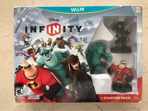 Disney infinity wii u starter pack nuevo! sin disco