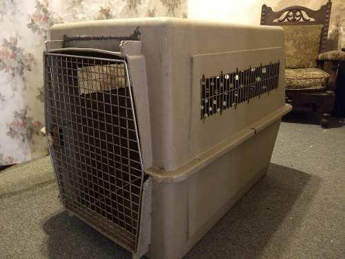 Jaula para transporte de perros grandes