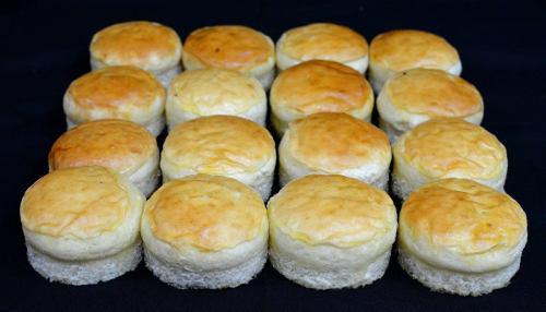 Pan de hamburguesa de papa 100gr con molde