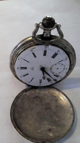 Antiguo reloj de bolsillo omega grand prix 1900