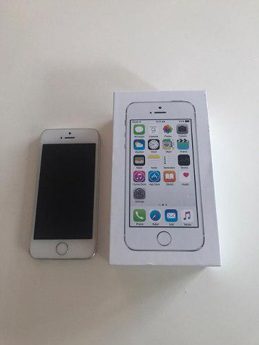 Apple iphone 5s plata 32gb